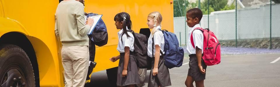 Conozca las normas de las rutas escolares