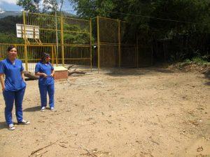 En este lote, donado por la JAC, se construirá el salón comunal del barrio Claverianos. - Suministrada/GENTE DE CABECERA