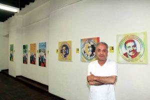 Vergara es artista plástico gráfico nacido en Bogotá. Ha realizado estudios de Pintura, Diseño, Sicopedagogía Artística y Liderazgo Democrático. - Elver Rodríguez / GENTE DE CABECERA