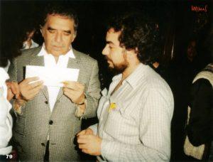 """""""Fue muy chévere haber conocido a Gabo, sobre todo porque era un gran personaje (...) Yo tenía apenas 26 años, no tenía la madurez y él me dio ese gran espacio"""", dice Hernando. - Suministrada/GENTE DE CABECERA"""