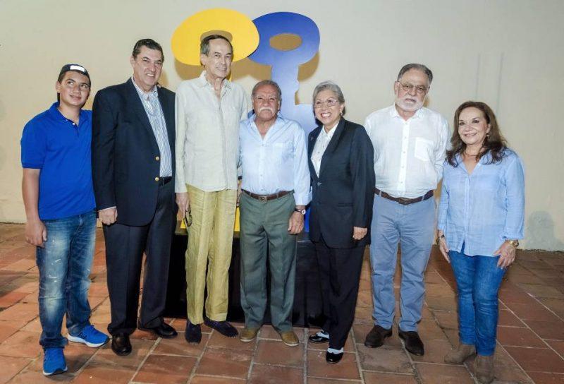Moisés Kreisberger, Pepe Toledo, Miguel González, Orlando Morales, Carmen Cecilia Solano, Ernesto Rueda y Clemencia Hernández. - César Flórez/GENTE DE CABECERA