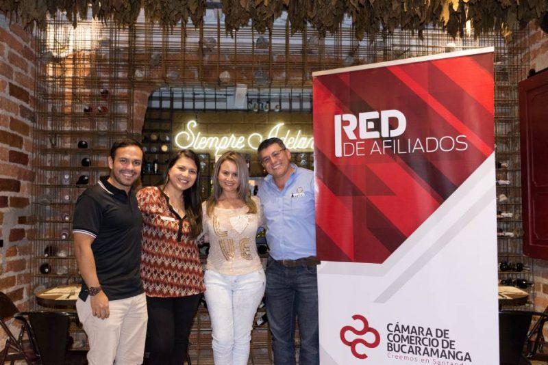 Juan Sebastián Galvis, Catalina Barajas, Andrea Gómez Prado y Mauricio Lamus. - Suministrada/GENTE DE CABECERA