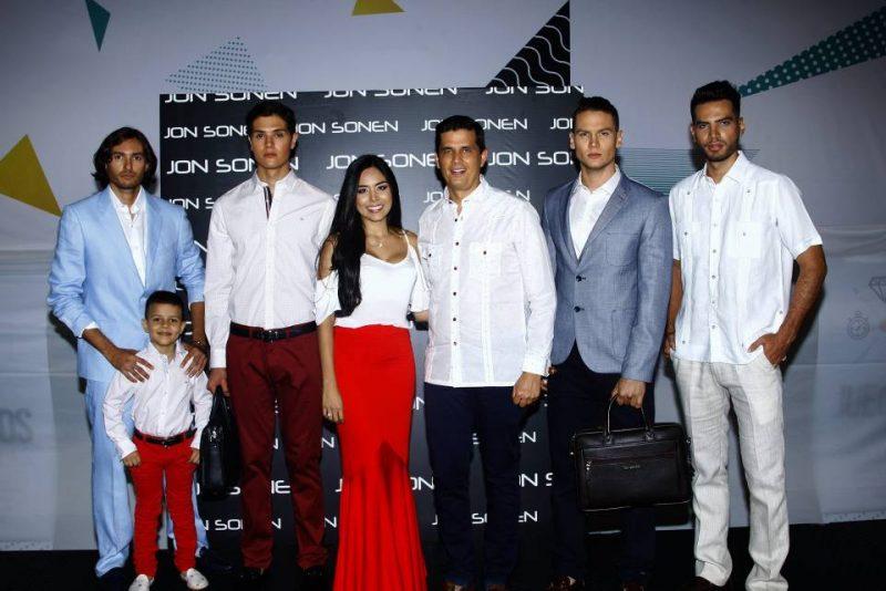Marvin Acevedo, René Alejandro Sánchez, Carlos Ferreira, Diana Mejía, Jon Sonen, David Arenas e Iván Suárez. - César Flórez/GENTE DE CABECERA