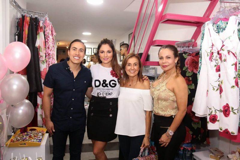 Richard Aguilar, Silvia Becerra, Stella Estupiñán y María Eugenia de Becerra. - Elver Rodríguez/GENTE DE CABECERA