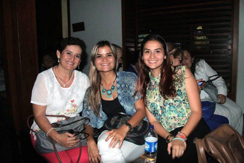 Esperanza Bautista, Stefanni Forero y Angie Carolina Moreno. - Elver Rodríguez/GENTE DE CABECERA