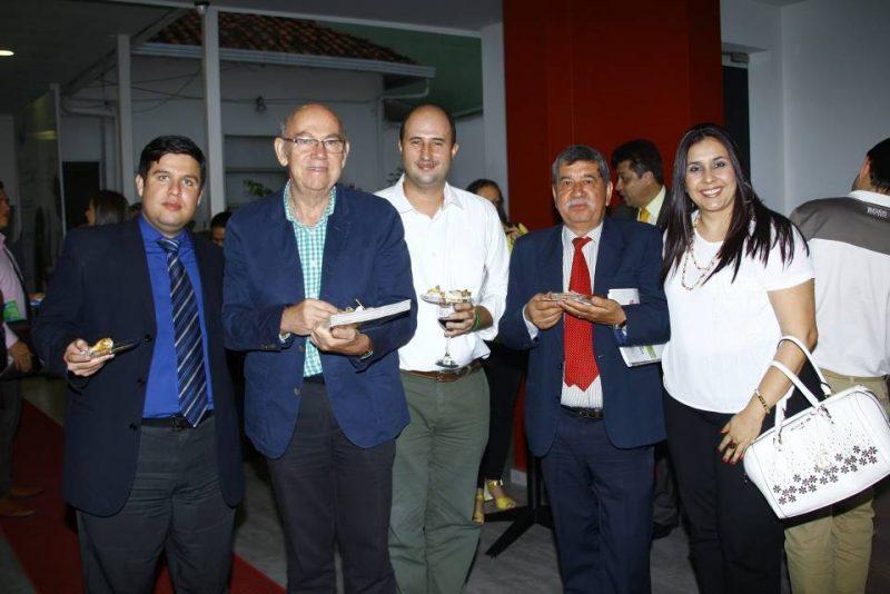 Juan Carlos Ochoa, Marlio Gómez, Jaime Clavijo, Ramón Darío Amaya y Silvia Sánchez. - César Flórez/GENTE DE CABECERA
