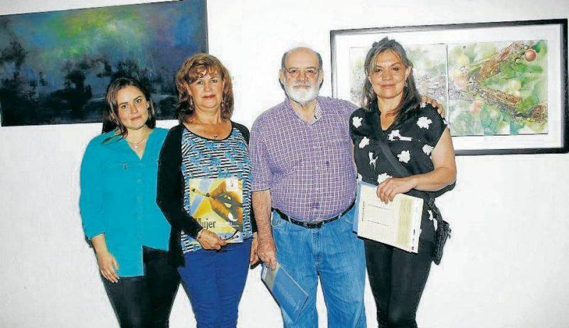 Ana María Cardona, Nidia Ramírez Monroy, Mario Gómez Díaz y Patricia Riberos. - César Flórez/GENTE DE CABECERA