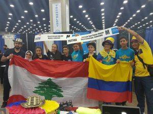 Al final del Campeonato, entre seis equipos que disputan las finales del mundo, los Claverianos obtuvieron los puestos tercero y sexto. - Suministrada/GENTE DE CABECERA