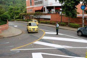 La Avenida 42 quedó en doble sentido únicamente entre la calle 46 y la vía que conduce al barrio Pan de Azúcar. - Fabián Hernández/GENTE DE CABECERA