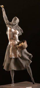 'Amerindia, pieles de hojalata' es una serie de esculturas de la argentina Viviana Herrera. - Suministrada/GENTE DE CABECERA