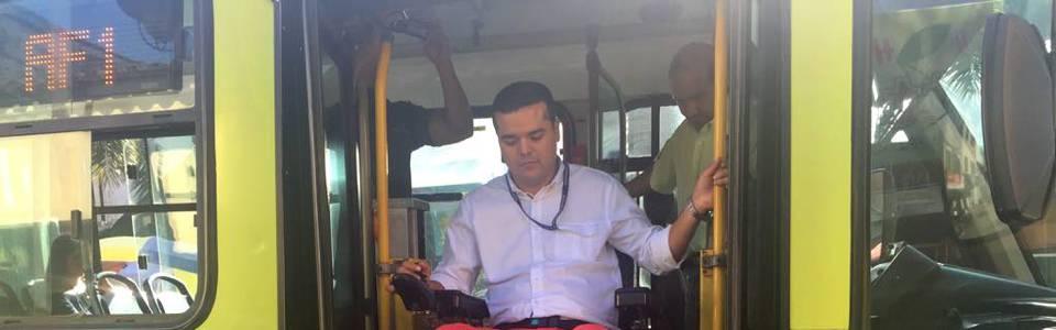 Personas con discapacidad pueden programar su viaje en Metrolínea