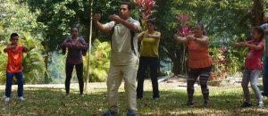 Esta será la tercera versión de la Meditatón: Maratón de meditación y yoga, evento que integra a participantes de toda el área metropolitana. - Suministrada/GENTE DE CABECERA