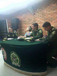 El frente de seguridad del sector funciona en coordinación con la Policía Metropolitana y la Junta de Acción Comunal. - Suministrada/GENTE DE CABECERA