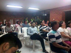 Reunión de seguridad realizada en el barrio El Prado. - Suministrada/GENTE DE CABECERA