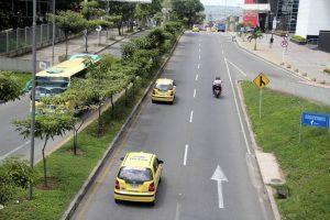 Se calcula que unos 600 mil automotores dejarán de circular en Bucaramanga y el área metropolitana el próximo miércoles. - Archivo/GENTE DE CABECERA
