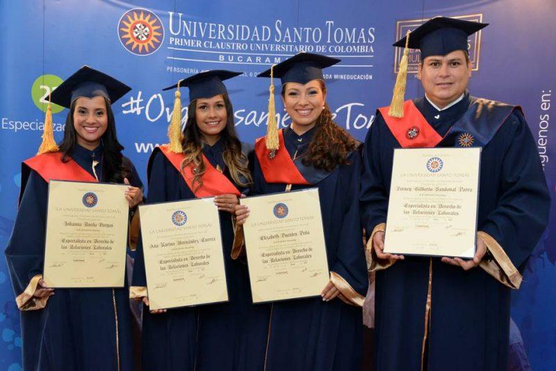 Johanna Rueda Vargas, Ana Karina Hernández Currea, Elizabeth Puentes Peña y Ferney Gilberto Sandoval Parra.       - Suministrada/GENTE DE CABECERA
