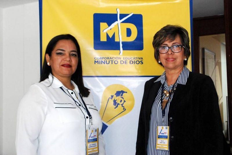 Aida Consuelo Ramírez Robayo y Nelcy Jerez Tami. - Suministrada/GENTE DE CABECERA