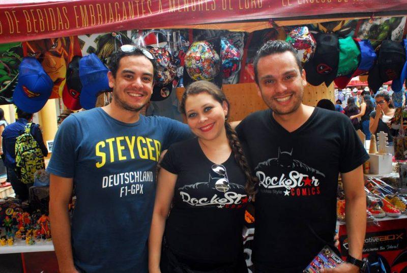 Daniel Tarazona, Nathaly Rodríguez y Andrés Grimaldos. - Heliberto Cáceres/GENTE DE CABECERA