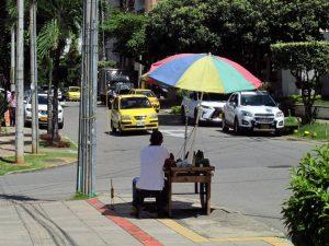 Algunos habitantes del sector temen que aumente la presencia de vendedores ambulantes. - Heliberto Cáceres/GENTE DE CABECERA