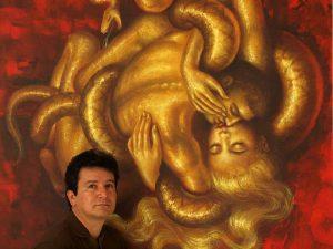 """José Ramón define su obra como una unión """"entre sentimiento, pensamiento y acción, entre el Ser y el hacer, entre la entrega total y de la pasión"""". - Suministrada/GENTE DE CABECERA"""
