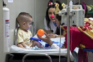 Los voluntarios de la fundación Doctora Clown estarán en los diferentes centros comerciales de Bucaramanga.  - Suministrada/GENTE DE CABECERA