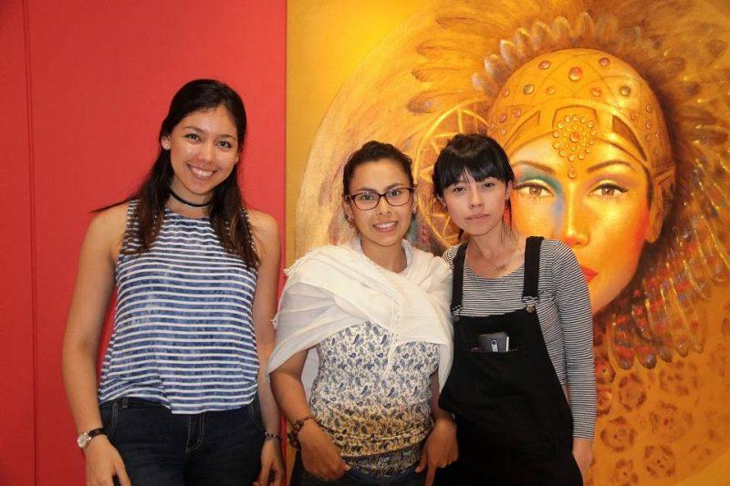 Silvia Marcela Jaimes, Luz Cáceres Guerrero y Adriana Albarracín. - Elver Rodríguez/GENTE DE CABECERA