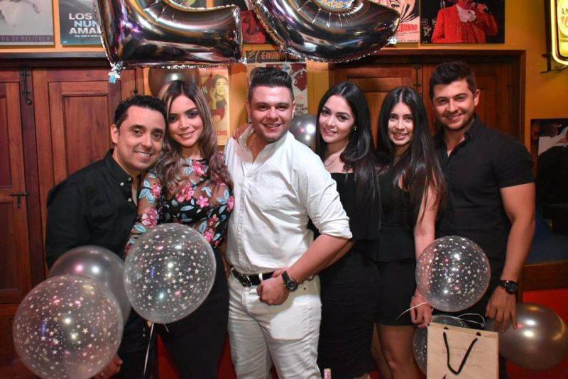 Carlos Torres, Adriana Torres, Luifer Cuello, Viviana Torres, Andrea Rivera y Santiago Villegas. - Suministrada/GENTE DE CABECERA