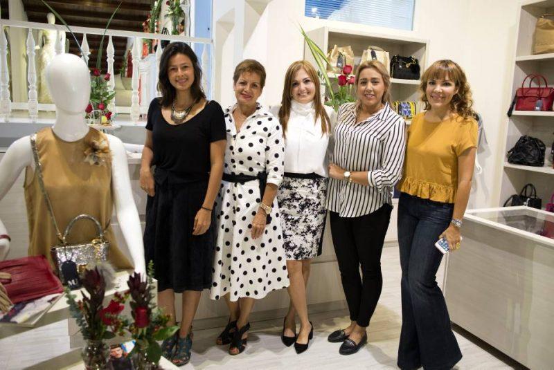 Laura Clavijo, Martha Pérez, Mónica Uribe, Catalina Moreno y Andrea Leyva. - Suministrada/GENTE DE CABECERA