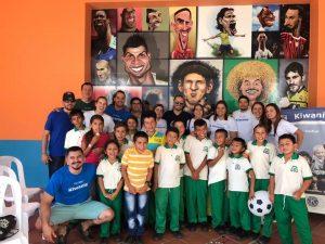 Con un partido amistoso finalizó el Torneo solidario de Fútbol 5 Kiwanis.  - Suministrada/GENTE DE CABECERA