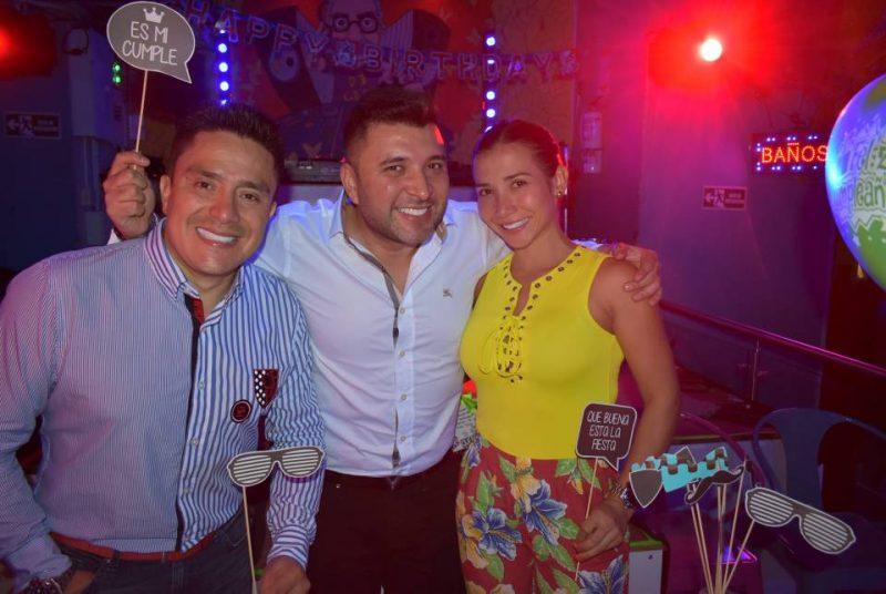 Cristian Arias, René Rincón y Carolina Celis. - Suministrada/GENTE DE CABECERA