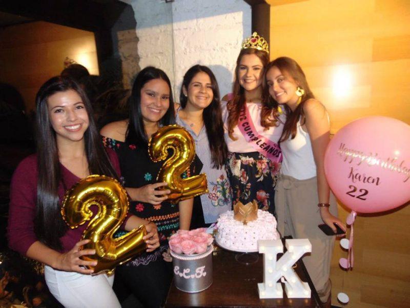 Catalina Mojica, Silvia Ibáñez, Adriana Ordóñez, Karen Durán y Ana María Ortiz. - Suministrada/GENTE DE CABECERA