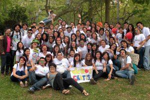 Más de 200 personas se unen cada año a la Abrazotón. - Suministrada/GENTE DE CABECERA