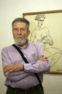 Rendón se ha dedicado al dibujo, pintura, grabado y serigrafía. Estudió en la Academia de Bellas Artes de Florencia y ha expuesto en países como Italia, Alemania y Cuba. - César Flórez/GENTE DE CABECERA