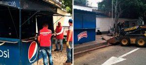 Los vendedores fueron reubicados en Plaza Satélite. - Suministrada Prensa Alcaldía / GENTE DE CABECERA