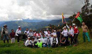 El grupo Caminos Reales de Colombia celebra 7 años de existencia. - Suministrada / GENTE DE CABECERA