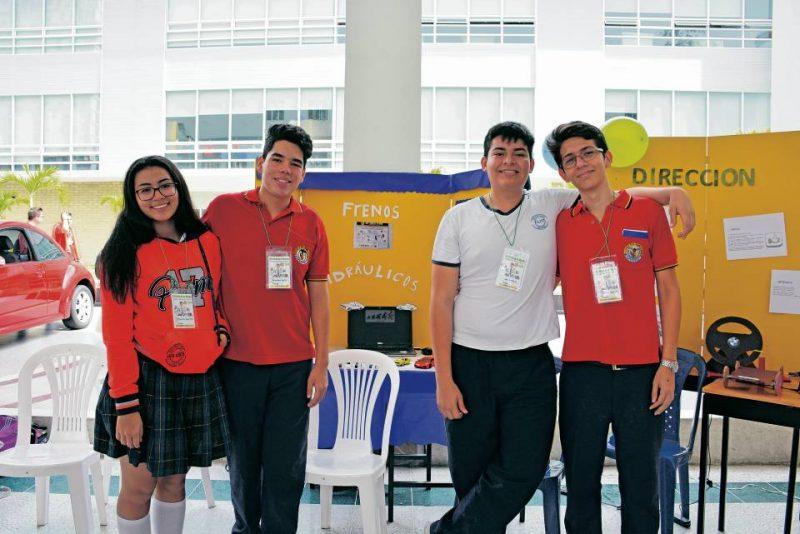 Alejandra Velásquez, Juan Sebastián Castro, Cristhian Martínez y Daniel Garzón. - Suministrada/GENTE DE CABECERA