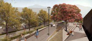 Se construirá una plazoleta la cual contará con mobiliario urbano y zonas verdes.  - Suministrada Alcaldía / GENTE DE CABECERA
