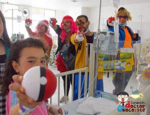 La fundación espera poder celebrar esta fecha con los niños hospitalizados de Bucaramanga.  - Facebook/GENTE DE CABECERA