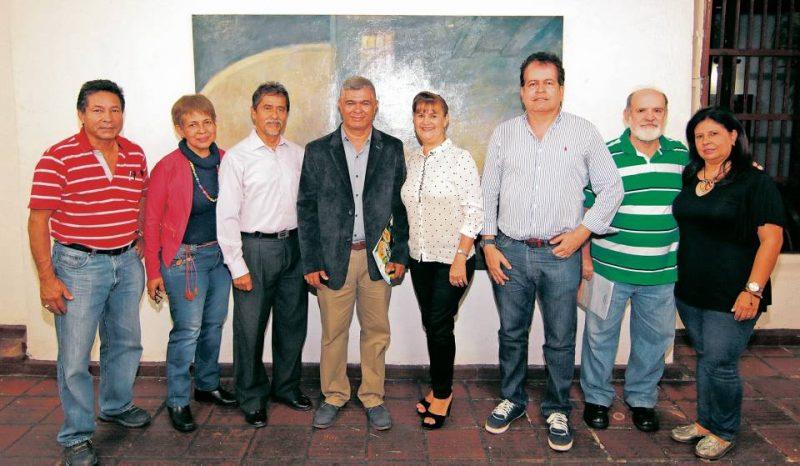 Isaías Prada, María Ríos, Fernando Villabona, Isaías Malavera, Nidia Ramírez, Carlos Serrano, Mario Gómez y Sol Bohórquez. - Élver Rodríguez / GENTE DE CABECERA
