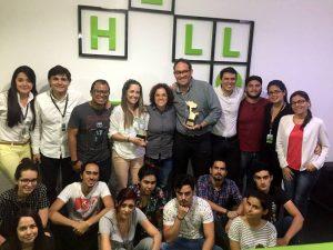 Con estos reconocimientos, ya son 16 los premios que ha recibido la agencia PVS por sus propuestas creativas. - Suministrada / GENTE DE CABECERA