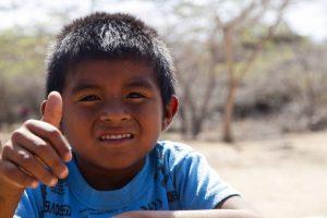 Los proyectos sociales de Mica Sonrisas están enfocados en ayudar a la niñez que habita en la alta Guajira. - Suministrada / GENTE DE CABECERA