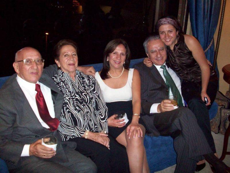 Jorge García Reyes, Ligia Alba de García, Maritza García de Arismendi, Miguel Francisco Arismendi Andrade y Andrea Arismendi García. - Suministrada/GENTE DE CABECERA
