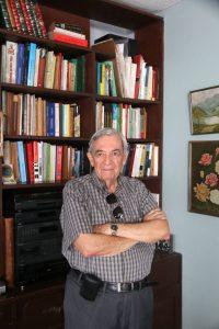 El periodista bumangués lleva más de 35 años publicando sobre la historia de Bucaramanga. - Élver Rodríguez / GENTE DE CABECERA
