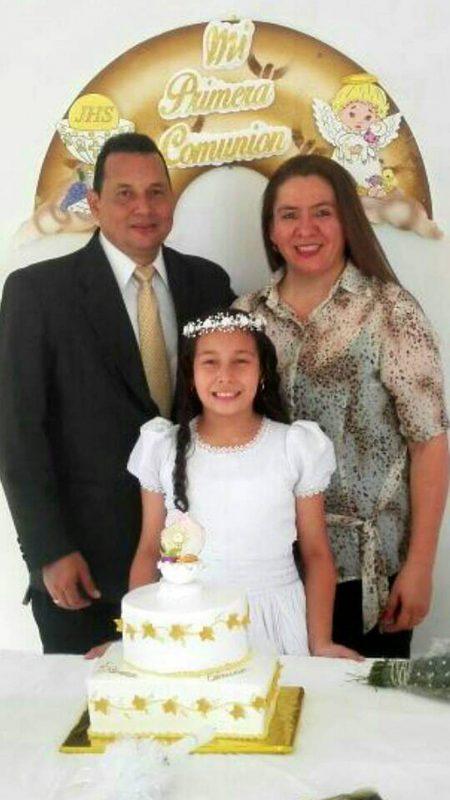 Ricardo Alberto Morán, Diana Marcela Morán Cáceres y María Margarita Cáceres. - Suministrada / GENTE DE CABECERA