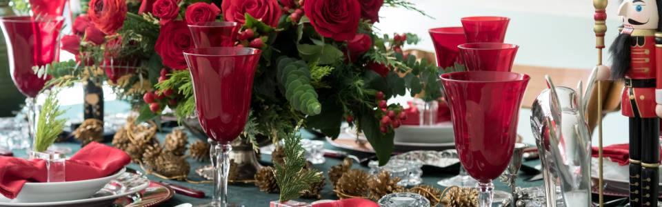 A decorar con estilo la mesa en esta Navidad