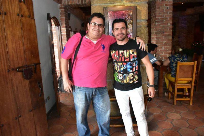 Manuel Reyes y Piter Albeiro. - Suministrada/GENTE DE CABECERA