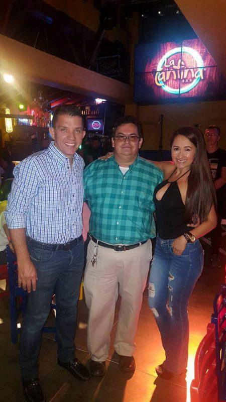 Juan Manuel Gutiérrez, Manuel Reyes y Olga Rueda. - Suministrada/GENTE DE CABECERA