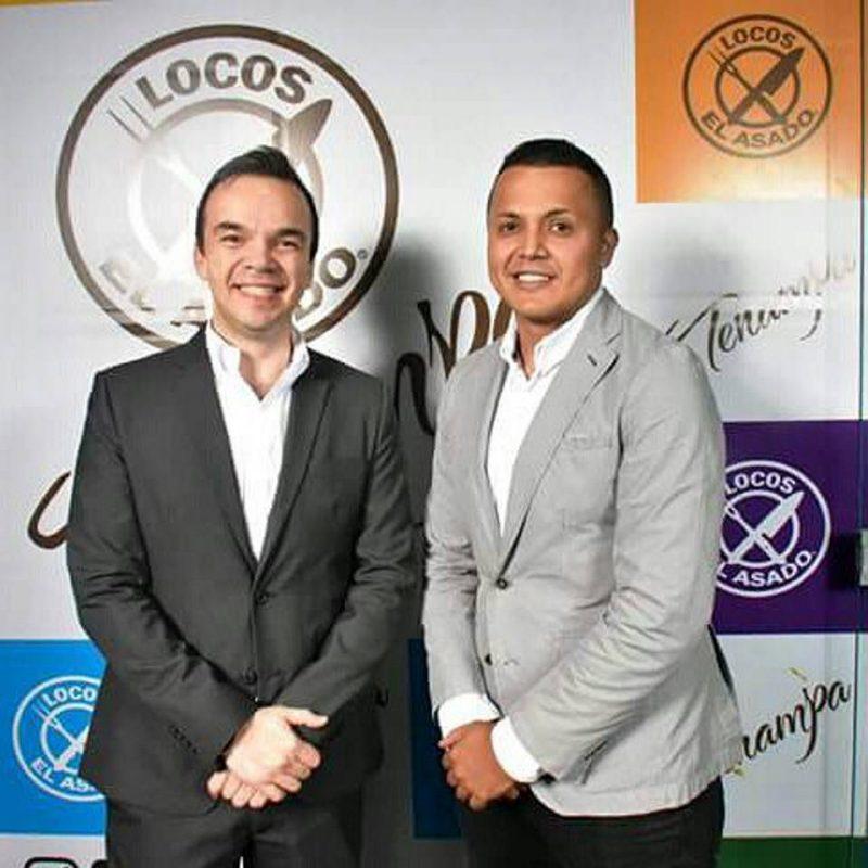 José Leonardo Pino y Andrés Gélvez. - Suministrada/GENTE DE CABECERA