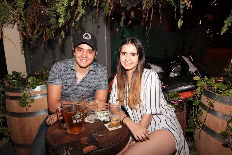 Diego Arrieta y Diana Cadena. - Élver Rodríguez/GENTE DE CABECERA
