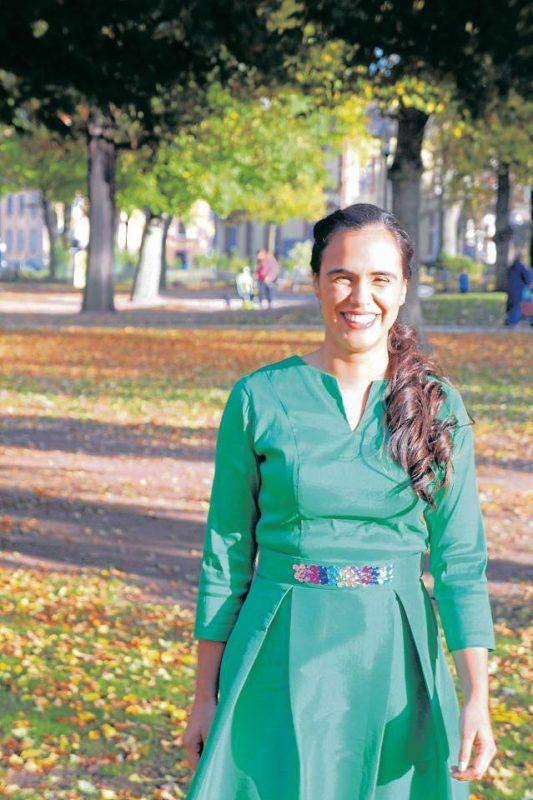Lalita actualmente reside en Alemania, donde trabaja para una multinacional como desarrolladora de software. - Suministrada / GENTE DE CABECERA